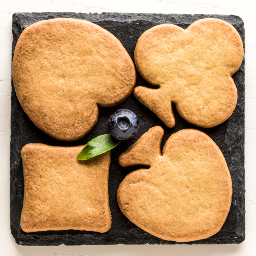 Blueberry short cakes