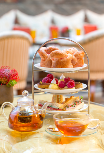 Tea time at the Metropole